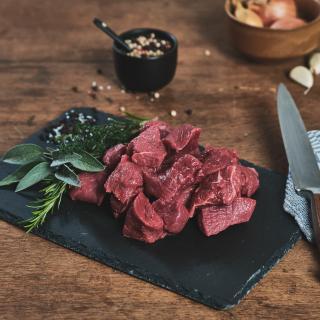 Rinder-Gulasch frisch  ca. 500g