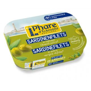 Sardinenfilets mit Olivenöl extra