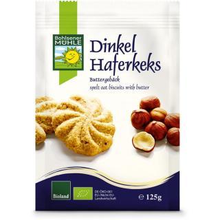 Dinkel-Hafer-Kekse