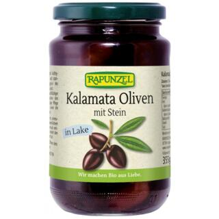 Kalamata Oliven mit Stein in Lake