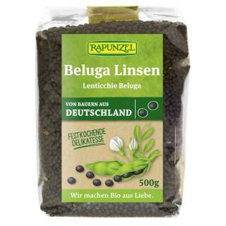 Beluga-Linsen schwarz (klein)