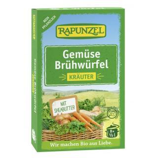 Gemüse-Brühwürfel mit Kräuter