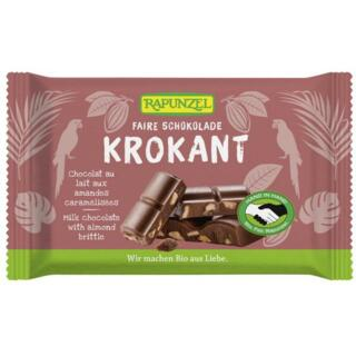 Vollmilch Krokant Schokolade