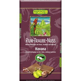 Rum-Trauben-Nuß Schokolade