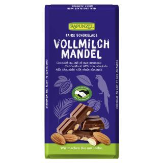 Vollmilch Schokolade mit Mandeln