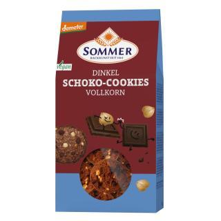 Dinkel Schoko Cookies Vollkorn