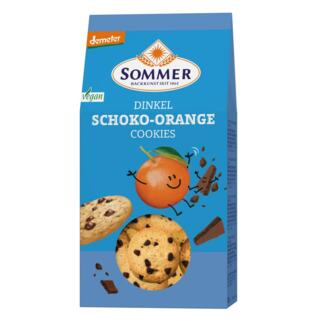 Dinkel Schoko Orange Cookies