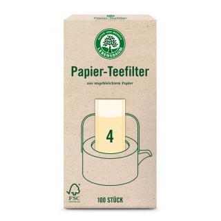Papier Teefilter Gr 4