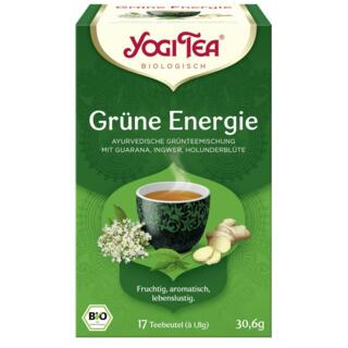 Yogi Tee Grüne Energie