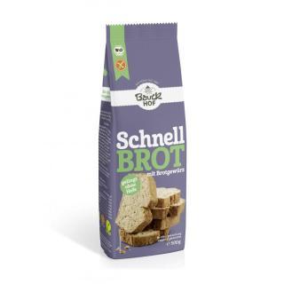 Schnellbrot m Brotgewürz - glutenfrei -