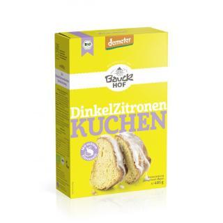 Dinkel - Zitronenkuchen Backmischung
