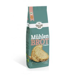 Backmischung Mühlenbrot 7 Saaten -glutenfrei-