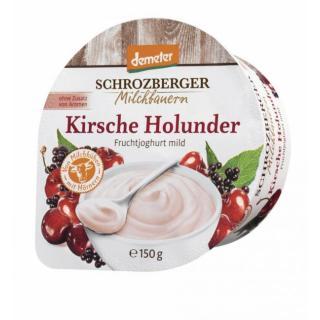 Demeter Fruchtjogh Kirsch-Holunder