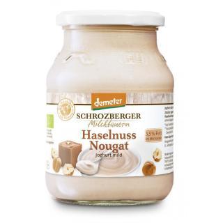 Joghurt Haselnuss-Nougat