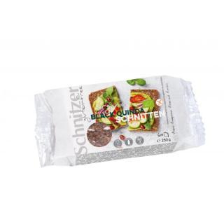 Black Quinoa Schnitten  - glutenfrei -