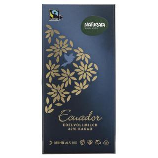 Edel Vollmilchschokolade Ecuador 42 %