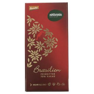 Feinbitter Schokolade Brasil 70%
