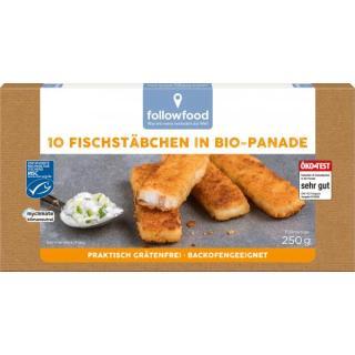 Kabeljau-Fischstäbchen
