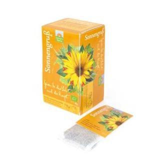 Sonnengruß Tee Kannenbeutel