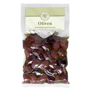 Kalamata Oliven mit Stein mariniert