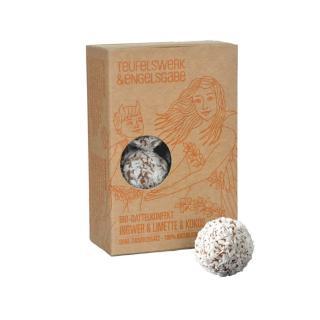Dattelkonfetkt Ingwer&Limette&Kokos