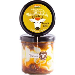 WildeWeideKuh - Carlo Curry & Dattel -  Frischkäse