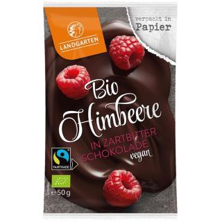 Himbeere in Zartbitter Schokolade